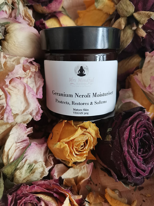 Geranium Neroli Cream for Mature Skin 50ml VEGAN