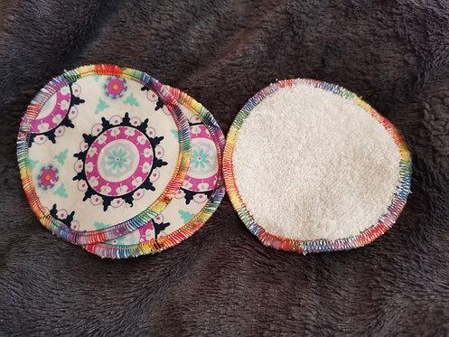 Reusable Makeup Pad and Wash Bamboo random mixed set