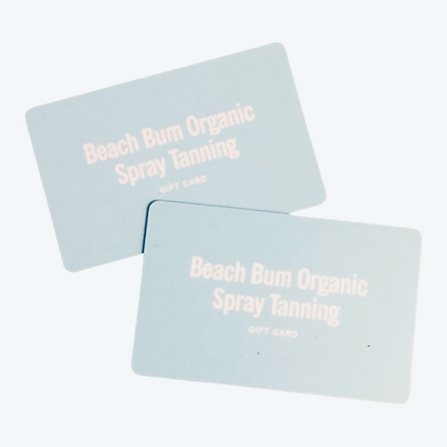 1 Coconut Rapid Spray Tan Gift Card