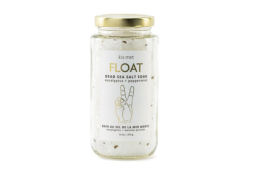 Kismet Float Dead Sea Salt Soak - Eucalyptus + Peppermint