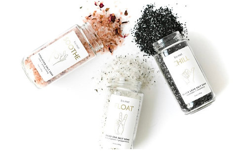 Kismet Bath Salt Trio Pack