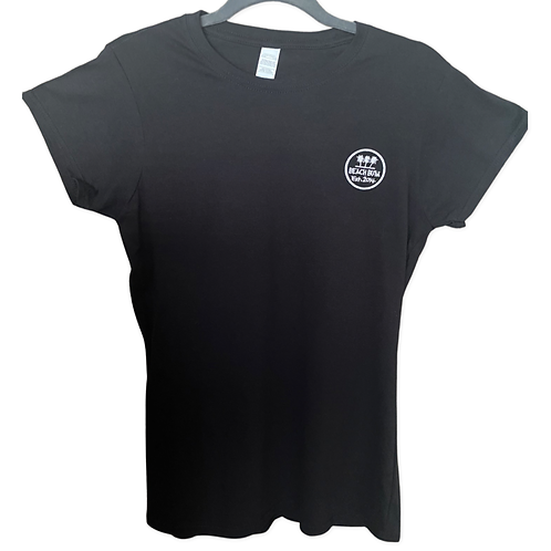 Women's Fitted Black T-Shirt