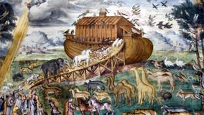 Il diluvio, l'Arca e l'arcobaleno