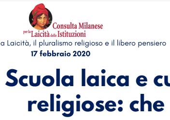 Scuola laica e culture religiose.