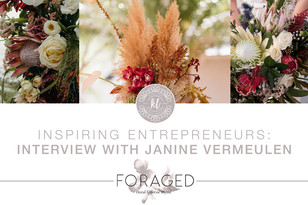 Entrepreneur Series: Janine Vermeulen from Foraged