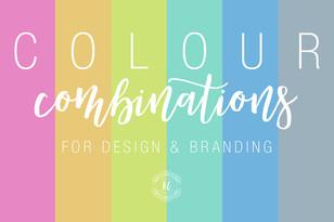 Colour Combinations for Design & Branding