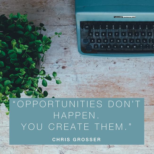 Create Opportunities - Klara Loots