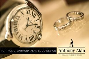 Portfolio: Anthony Alan Logo Design