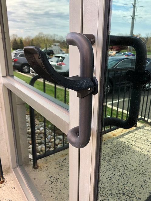 Hands-Free Door Opener for Vertical Bar door handles