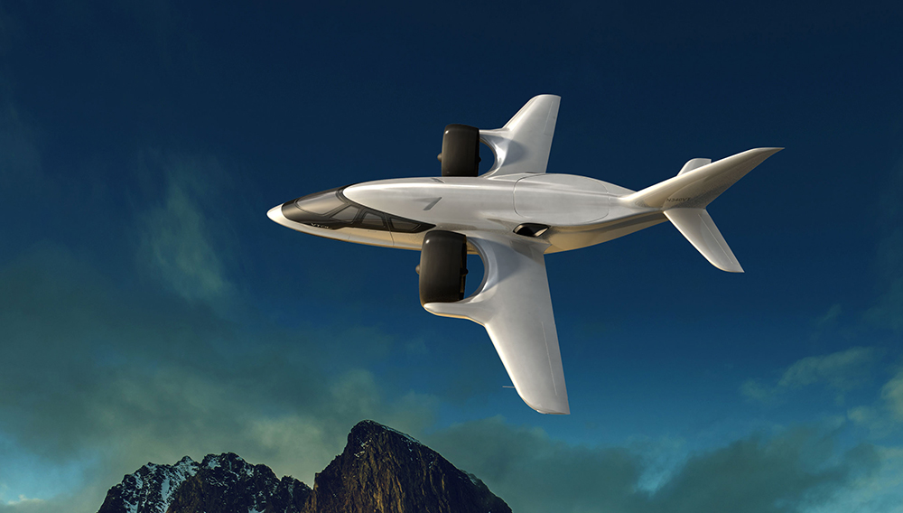 VTOL Electric Jets Production