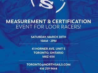 North Sails Measurement + Certification Event