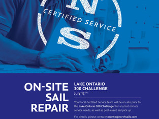 North Sails Toronto Provides Regatta Service