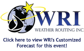 WRI To Provide Weather Forecasts for LO300/600