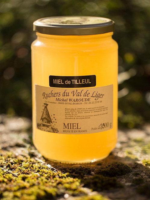 Miel de tilleul 500g ou 1kg