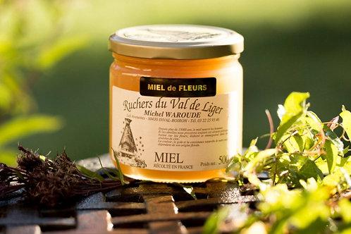 Miel de fleurs 500g ou 1kg