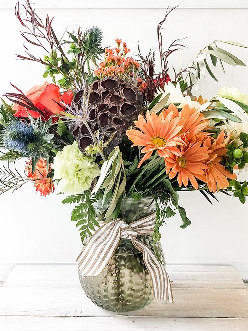 Fall Mixed Vase