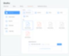 OnePro document management UI