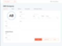 OnePro customer management UI