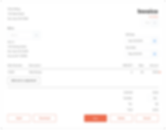 OnePro invoice management UI