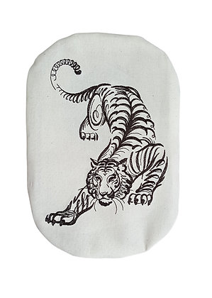 Cotton stoma bag cover crouching tiger embroidery Polar Moonthe