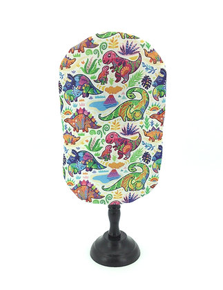 Stoma Bag Pouch Cover, Bright Dinosaur