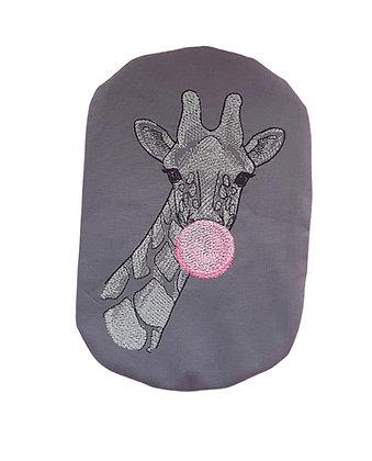 Stoma Bag Cover, Bubble Gum Giraffe