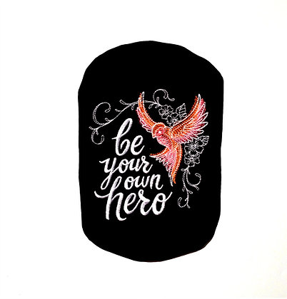 Stoma Bag Cover, Be Your Own Hero