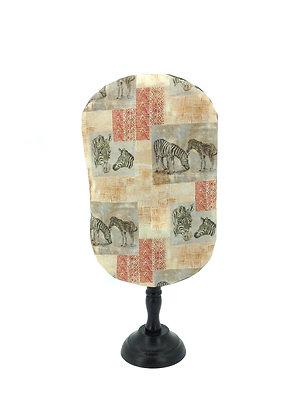 Stoma Bag Pouch Cover, Safari Zebra