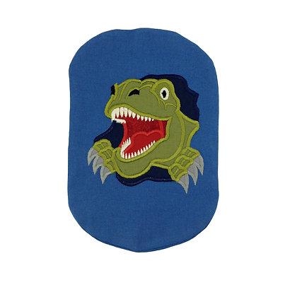 Blue cotton stoma bag cover dinosaur Polar Moon