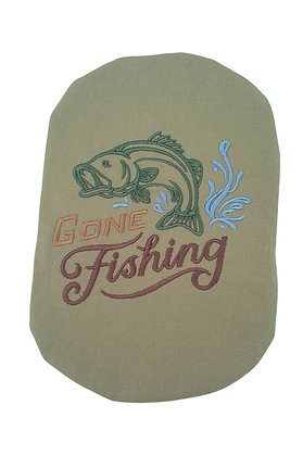 Stoma Bag Pouch Cover, Gone Fishing
