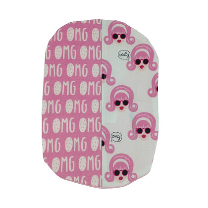 Stoma Bag/Pouch Cover, Gossip Head, OMG