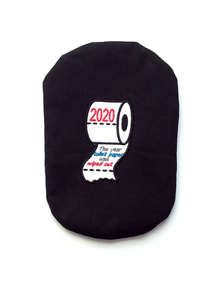 Stoma Bag Cover, 2020 The Year Toilet Paper Was Wiped Out, New Year Xmas Design