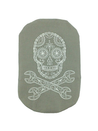 Stoma Bag Cover, Skull and Cross Bones Mechanic