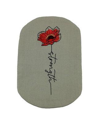 Stoma Bag Cover, Strength Poppy