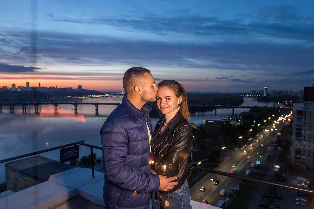 ужин на крыше, Киев