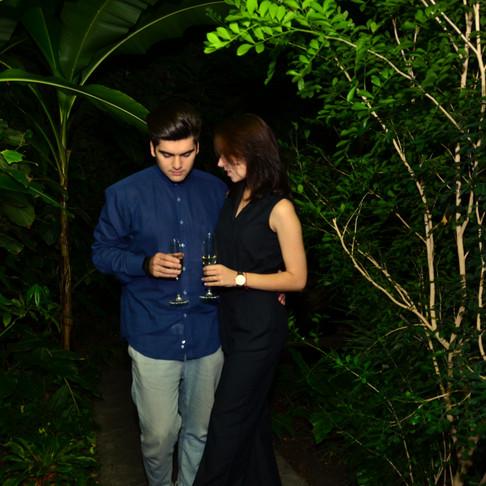 Романтичний вечір в джунглях