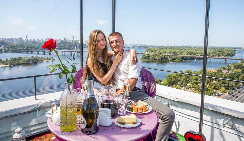 романтический ужин, Киев