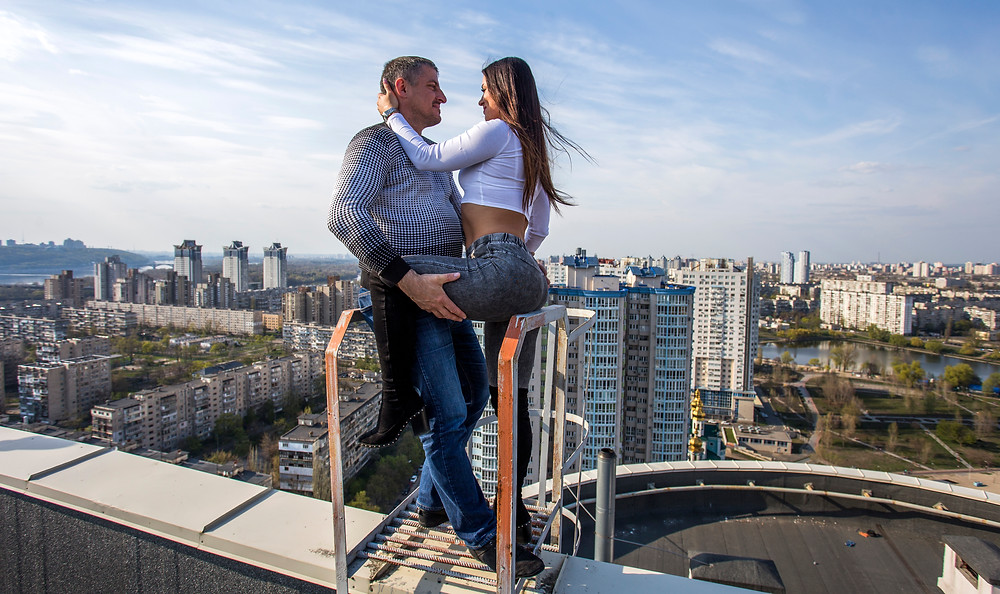 романтическое свидание, Киев