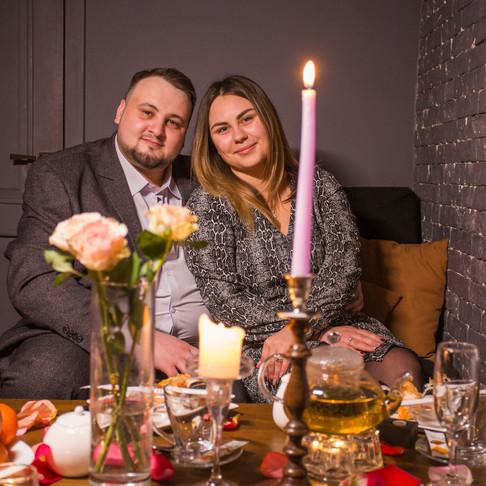 Романтический ужин в кинотеатре для двоих