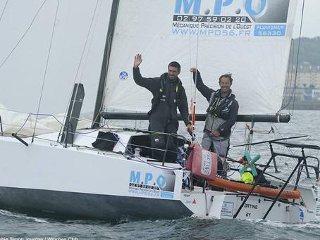 Mini Fastnet : victoire du duo Axel Tréhin et Thomas Coville