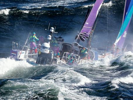 Alex Pella sur la Volvo Ocean Race
