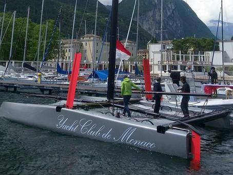 Yacht Club de Monaco en GC32