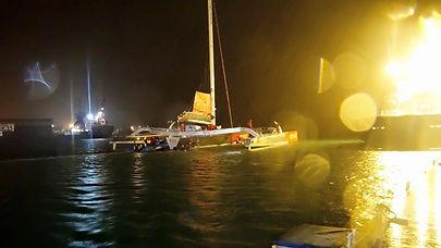 Photo _ Bernard Stamm Sailing