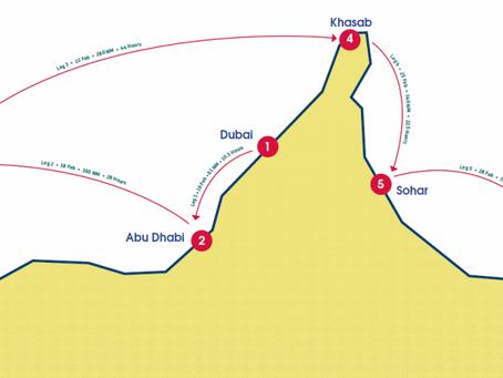 J-2 pour l'EFG Sailing Arabia Tour