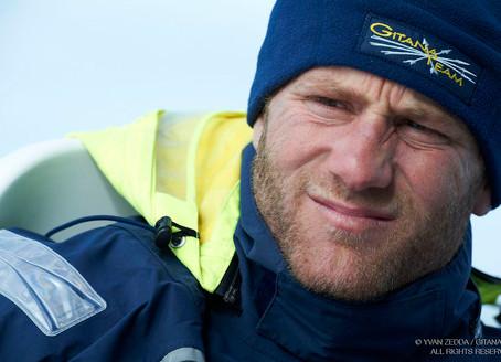 Charles Caudrelier co-skipper de Gitana