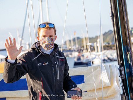 Solitaire du Figaro, direction Dunkerque