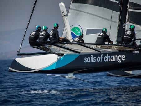 Une 3ème place pour Sails of Change
