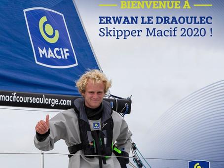 Et le nouveau skipper Macif 2020 est