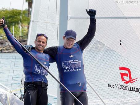 Cammas et Vandame 1er au Martinique Cata Raid