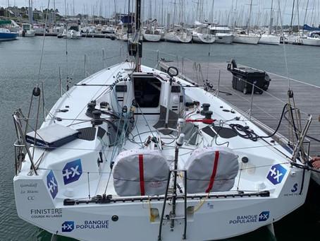 Banque Populaire, retour sur l'eau pour le Figaro 3